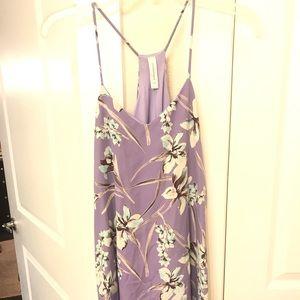 Runway Seven- Purple / pastel floral dress